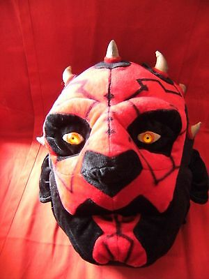 Star Wars Darth maul Head Backpack Rucksack  with tags by giftware