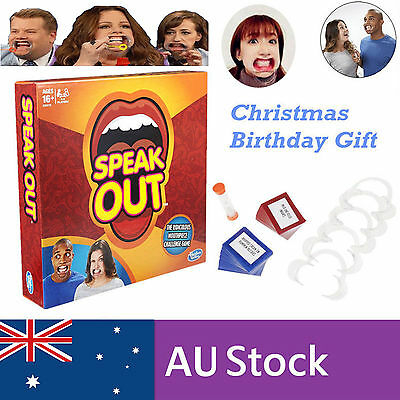 Brand New Speak Out Board Party Game Speakout Xmas