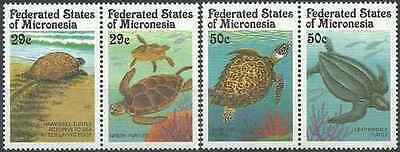 Timbres Reptiles Tortues Micronésie 164/7 ** lot 16583