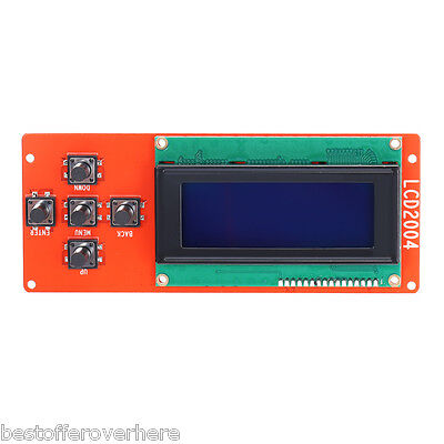 Anet LCD2004 LCD Display Blue Screen Controller for RepRap Ramps 1.4