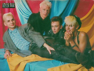 DEPECHE MODE ' relaxing' magazine PHOTO / Pin Up /Poster 11x8 inches