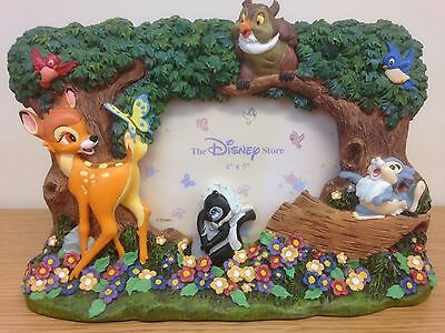 "Disney Store London- Bambi Thumper Decorative 3D Photo Picture Frame 4"" x 5"""