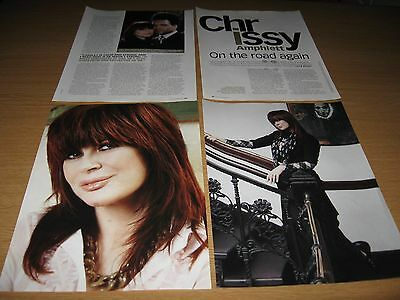 CHRISSY AMPHLETT - Four Page Magazine Feature