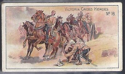 Taddy-Victoria Cross Heroes Vc V.c-#16- Quality Card!!!