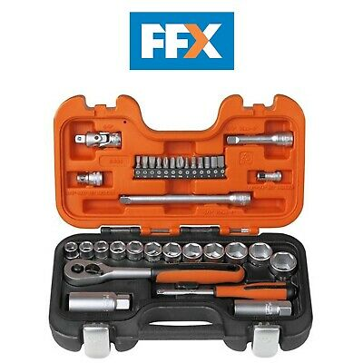 Bahco S330 Socket Set 33 Piece 1/4in and 3/8in Drive