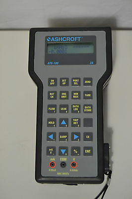 Ashcroft ATE-100 2A Handheld Pressure Calibrator with AQS-1 and AQS-XS Modules