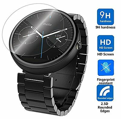 Motorola Moto 360 (1st gen) Fitness Smart watch Tempered Glass Screen Protector