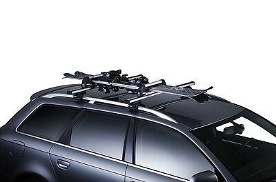 Thule 740 Deluxe Ski & Snowboard Carrier for 3 Pairs Skis or 2 Snowboards