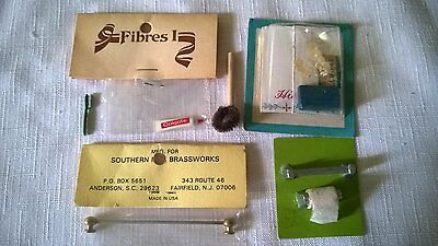 Bathroom Items Lot for 1:12 Scale Dollhouse Miniatures Vintage 1970s-80s