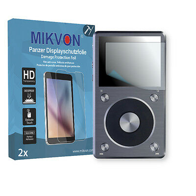 2x Mikvon Armor Screen Protector for FiiO X5 II Retail Package with accessories