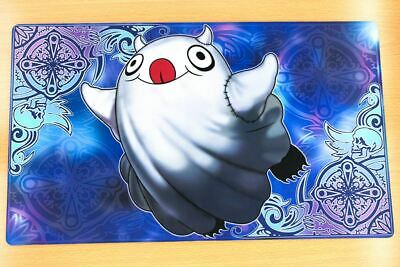 C468 Free Mat Bag Custom Made Playmat Yugioh Ghostrick Specter CCG Play Mat