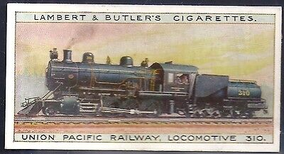 Lambert & Butler-Worlds Locomotives (Series Of 25)-#02- Quality Card!!!