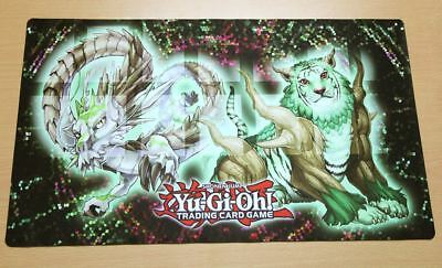 C1578 Free Mat Bag Custom Made Play Mat Yugioh Naturia Beast CCG Playmat
