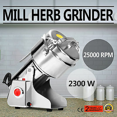500g Electric Herb Grain Mill Grinder Coffee Beans Multifunction High Speed
