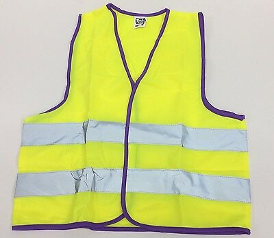 HI VIZ CHILDRENS SAFETY Waist Coat Black Friday 50% discount