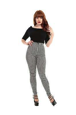 Collectif Vintage Maddie Gingham Trousers