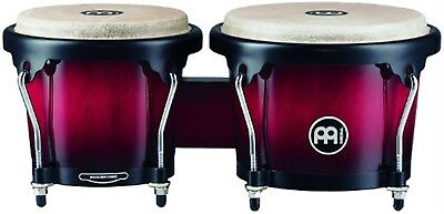 Meinl 6 3/4-inch and 8-inch Bongo - Wine Red Burst