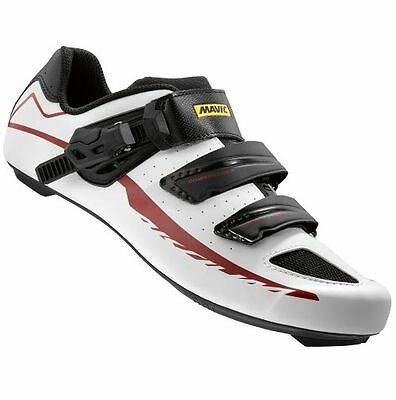 Scarpe / Shoes Mavic Strada Aksium Elite Ii White/black/red