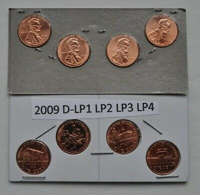 2009 Denver Bicentennial Lincoln Penny Set (4 Coins)