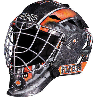 Franklin Sports GFM 1500 NHL Philadelphia Flyers Goalie Face Mask