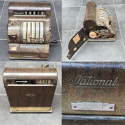 NATIONAL CASH REGISTER Caisse Enregistreuse Vintage