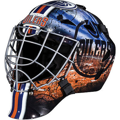 Franklin Sports NHL Edmonton Oilers Mini Goalie Mask
