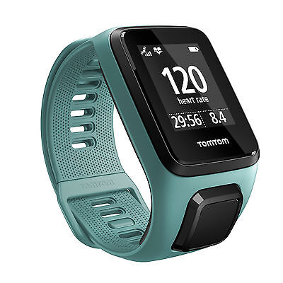 TomTom Spark 3 GPS Fitness Watch Aqua Size Small