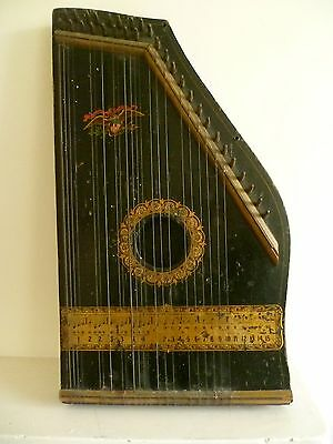 ANTIQUE HARP No.2 MADE IN USA PATENTED LATE C18th