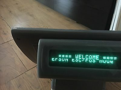 EPOS Posligne OLC15 touch screen monitor with costumer display.