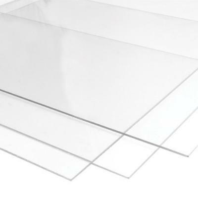 Perspex acrylic sheet plastic clear A4 Sheet panel material 3mm plexiglas