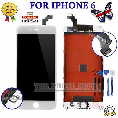 "For iPhone 6 4.7"" LCD White Display Touch Screen Digitizer Assembly Repalcement"