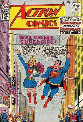 Action Comics (1938 series) #285 in Fine - condition. FREE bag/board