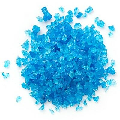 Rock Candy Crystals Blue Raspberry, 1Lb