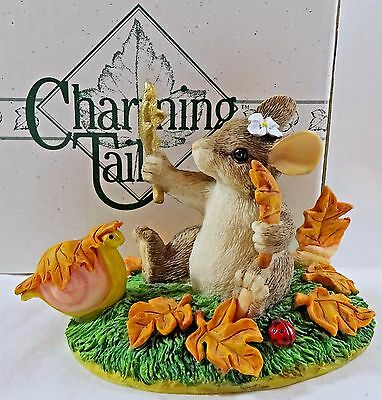 Charming Tails Maxine's Leaf Collection