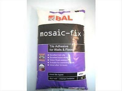 Mosaic-fix Mosaic Tile Adhesive 1kg. Extreamly strong. Used inside or outside