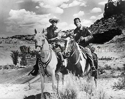 LONE RANGER & TONTO from the TV Series PHOTO