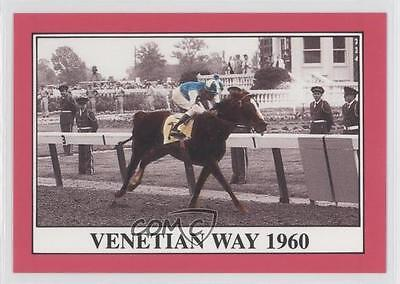 1991 Horse Star Kentucky Derby #86 Venetian Way MiscSports Card 0l5