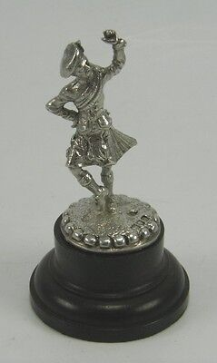 Thomas White Antique 925 sterling silver figure of a highland dancer London 1896