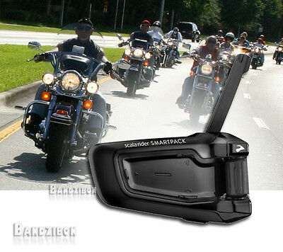 Cardo Scala Rider Smartpack solo Motorcycle Intercom Communication Head Intercom
