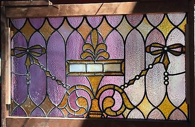 Lovely jeweled stained glass window