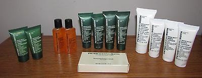 Peter Thomas Roth Travel Conditioner Body Gel Shampoo Lotion Soap