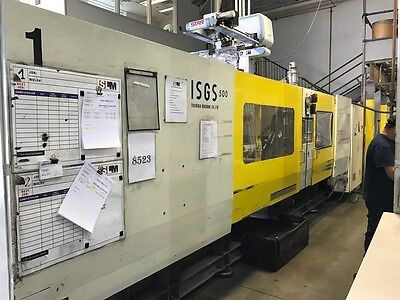 Used Pre-Owned 1994 Toshiba ISG-500 Ton Plastic Injection Molder for sale