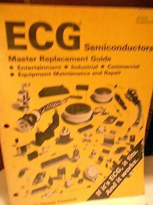 ECG Semiconductor;Master Replacement,Comprehensive Guide,Electronic Components