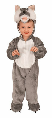 New Boys Girls Kids Toddler Wolf Costume Fancy Dress Halloween Wolf Outfit Age 3