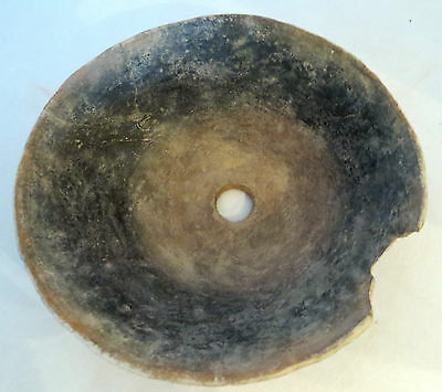 Pre-Historic Anasazi Plainware Pottery Bowl