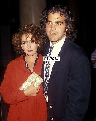 George Clooney and Talia Balsam Attend the ABC Television Affiliates Party Photo