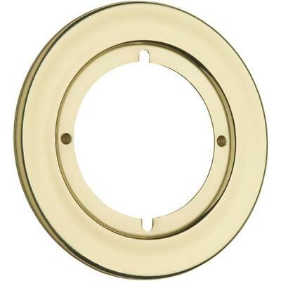 "4 Pk Kwikset Brass 3 13/16"" OD Door Knob Lockset Rosette Trim Back Plate 293-3 • CAD $50.58"