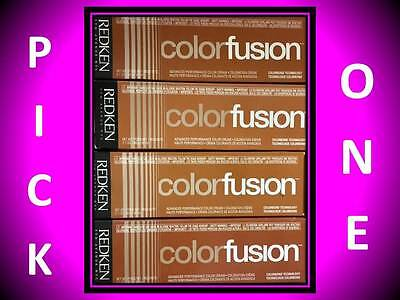 REDKEN COLOR FUSION Permanent Hair Color - Levels 1 - 9