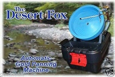 Desert Fox  One Speed Gold Panning Machine! Christmas Gift For Dad? Find Gold!