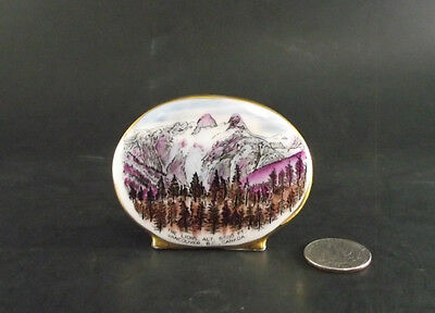 The Lions Vancouver Bc Canada  Alt 6500 Vintage Royal Grafton Snow Covered Peaks